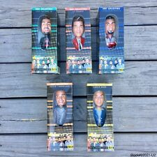 COMPLETE SET OF 5 NSYNC 2001 COLLECTIBLE BOBBLE HEAD DOLLS, NEW * FREE SHIPPING*