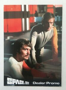Space 1999 Dealer Promo Card featuring Nick Tate and Prentis Hancock nsp3