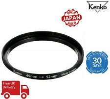 Kenko 49-52mm Step Up Adapter Ring IN7859 (UK Stock)