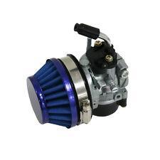Blue High Performance Racin Carburetor For 80cc 2 Stroke Engine Motorized Part