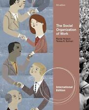 The Social Organization of Work, International Edition
