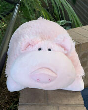 Pillow pets signature wiggly pig pink plush toy