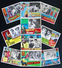 ALBERTO VAZQUEZ LOBBY CARD PHOTO COLLECTION 1960s 1970s NEAR MINT VINTAGE