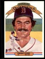 1983 Donruss Dwight Evans Boston Red Sox #7
