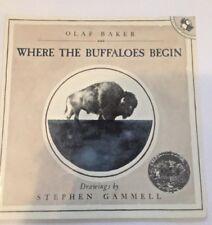 Where the Buffaloes Begin ~ Baker, Olaff; PB