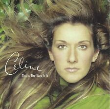 Celine Dion  ‎– That's The Way It Is    cd single in cardboard