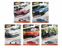 2020 Hot Wheels Modern Classics Set of 5 Cars Car Culture 1/64 Diecast Cars