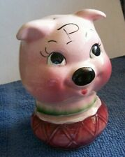 DeForest of California Big Head Pig Stacker Salt & Pepper Shakers