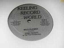 "TONY SCOTT~WILD FLOWER~VG~RARE~THE LOOK OF LOVE~REGGAE~ 12"" SINGLE"