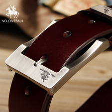 NO.ONEPAUL cow genuine leather luxury strap male belts for men high quality