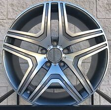 "20"" Mercedes Benz Wheels Tires Rims For G Class G500 G550 G55 G63 W463 Gunmetal"
