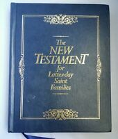 The New Testament for Latter-Day Saint Families Thomas R. Valletta SIGNED 1st Ed