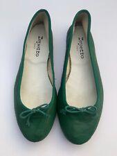 Repetto Ballet Flats Emerald Green