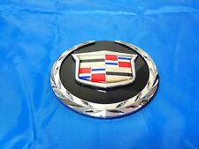 1PC New 2007-2014 Cadillac Escalade Front Grille Emblem For Cadillac 22985035 GM