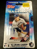 2016 Topps New York Yankees EXCLUSIVE Special Limited Edition 17 Card Team Set