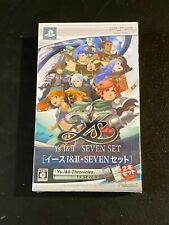 Ys I & II Seven Set Sony Playstation Portable PSP Japan Import NW10107720 NEW