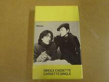 MUSIC CASSETTE / JOHN LENNON - WOMAN / YOKO ONO - BEAUTIFUL DAYS
