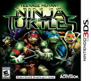 Teenage Mutant Ninja Turtles (Nintendo 3ds) TMNT 2ds