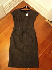 sportscraft  charcoal brown  wool dress NWOT $229 10