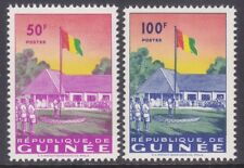 Guinea 188-89 MNH 1959 Flag Raising at Labé Set VF