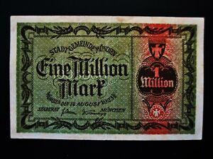 München  1 Million Mark  1923