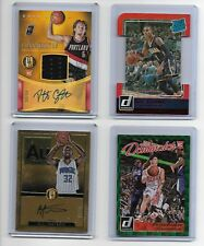 2015-16 Gold Standard Pat Connaughton Auto Jersey Rookie Card RC /99 (Top Left)
