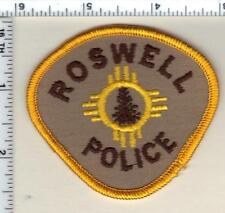 Roswell Police (New Mexico) Shoulder Patch from 1989