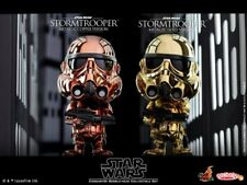 Hot Toys Cosbaby Star Wars Stormtrooper Metallic Bobble Head Collectible Set