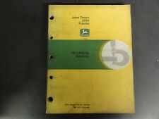 John Deere 2030 Tractor Technical Manual  TM-1051 (FEB-86)