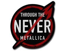 METALLICA through the never - 2013 - WOVEN SEW ON PATCH official merchandise