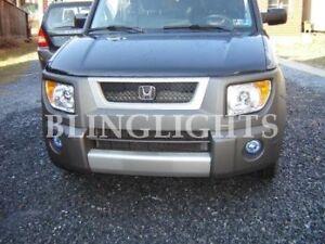 Xenon Halogen Fog Light Kit Lamps for 2003-2010 Honda Element 06 07 08 09 lx ex