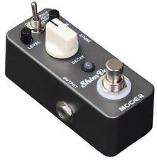 Mooer ShimVerb true bypass reverb effects guitar pedal shim verb