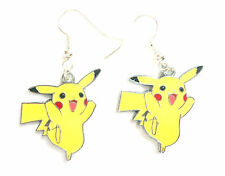 PIKACHU POKEMON DROP DANGLE EARRINGS RETRO GAMER GEEK IN GIFT BAG