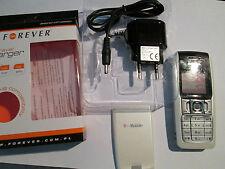 Nokia 2310 RH 189 silber Simfrei Lader Ohrstöpsel T..Mobile Zeichen gebr. 231017