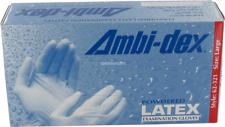 AMBI-DEX 100 GUANTI LATTICE BIANCHI TAGLIA S