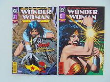 2x WONDER WOMAN - Heft Nr. 1 + 6 - DC Comics / Z. 1-