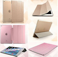 Slim Flip Magnetic Leather Smart Stand Back Cover Case for Apple iPad Mini 1 2 3