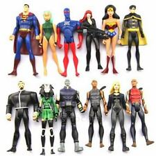 Lot 12 DC Universe YOUNG JUSTICE Superman Robin Wonder Woman Movie Action Figure