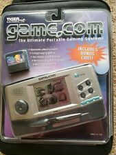 Tiger Game.Com NEW Handheld Console 2 SLOTS System W/GAME & Damaged PACKAGING