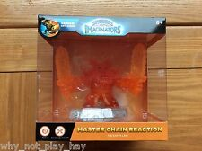 Rare skylanders orange clear crystal master chain reaction imaginators chase