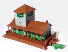 Outland Models Modelleisenbahn Miniatur Kleiner Bahnhof Spur Z 1:220