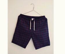 BNWT American Apparel Flannel Shorts Large Paul