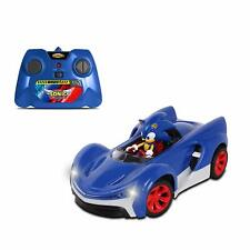 SONIC THE HEDGEHOG RADIO CONTROL CAR WITH TURBO BOOST BUTTON AND WORKING LIGHTS