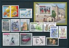 French Andorra 2016 Complete year set Excl. booklet stamp MNH
