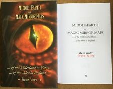 Middle-Earth In Magic Mirror Maps By Steve Ponty Signed First Wilderland Wales