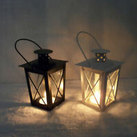 Gifts & Decor Black White Romantic Candle Holder Hanging Lantern Lamp Retro GK1