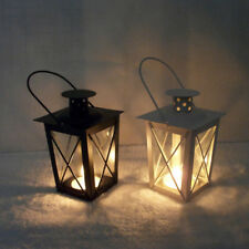 Gifts & Decor Black White Romantic Candle Holder Hanging Lantern Lamp Retro GK1