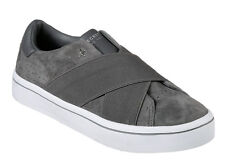 Skechers NEW Hi Lite Street Crossers grey suede fashion trainers shoes sizes 3-8