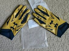 Notre Dame Football 2015 Team Issued Under Armour Gloves Xxl