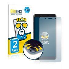 "2x Cover Folie Vasco Translator Premium (5"") Edge Screen Display Schutz"